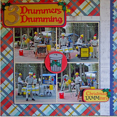 Three Drummers Drumming