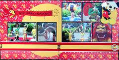Jeweled Dragon Acrobats - China Pavilion in the World Showcase - Epcot - Walt Disney World