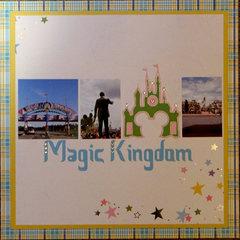 Magic Kingdom cover sheet