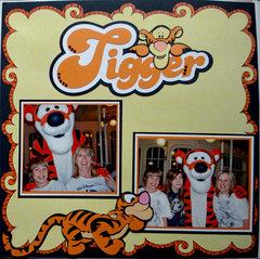 Tigger - Crystal Palace at the Magic Kingdom