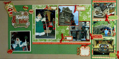 United Kingdom and Father Christmas - Epcot World Showcase