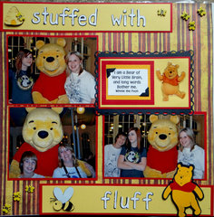 Winnie the Pooh - Crystal Palace - Magic Kingdom