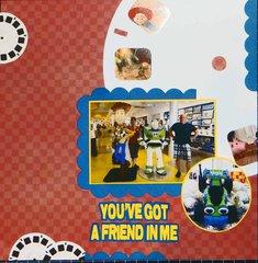 You've Got a Friend in Me (Downtown Disney Lego)