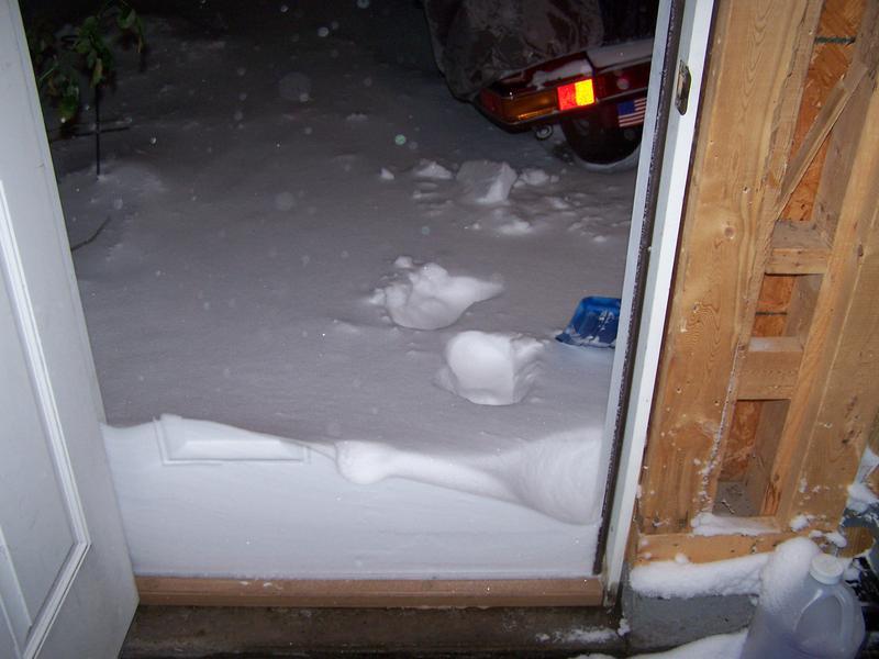 Over night snow!