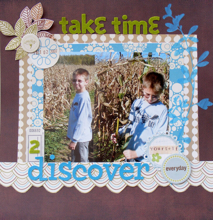 Take Time 2 Discover Yourself