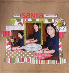 DEAR Santa DEFINE: GOOD