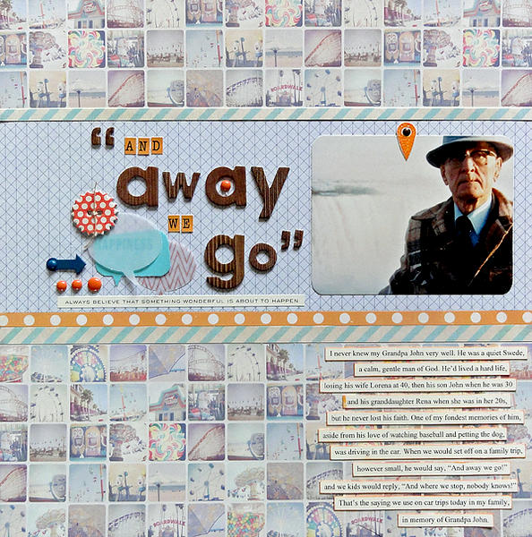 """""""And Away We Go"""""""