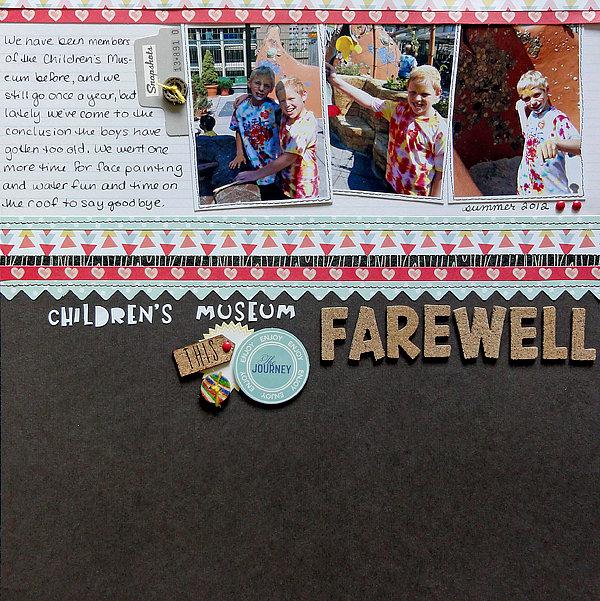 Children's Museum Farewell