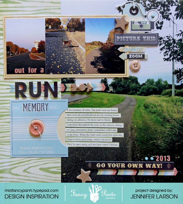 Out for a Run *Fancy Pants Designs*