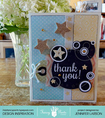 Thank You Card *Fancy Pants Designs*