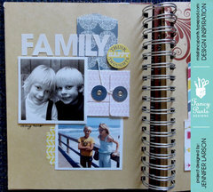 Word a Day Brag Book *Fancy Pants Designs*