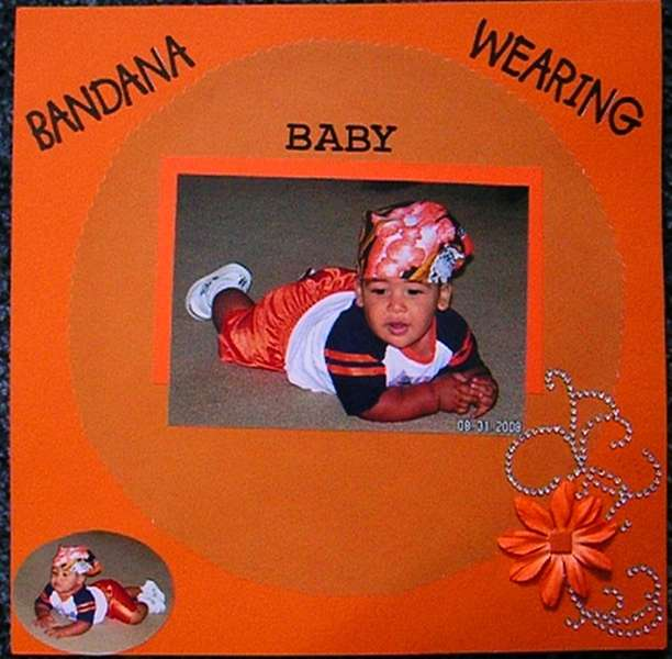 Bandana Wearing Baby