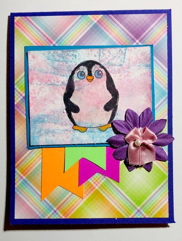 Penguin - #4 Feb. Card Sketch Challenge