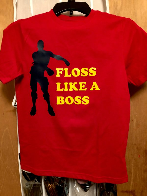 Floss Like A Boss shirt- Brayden