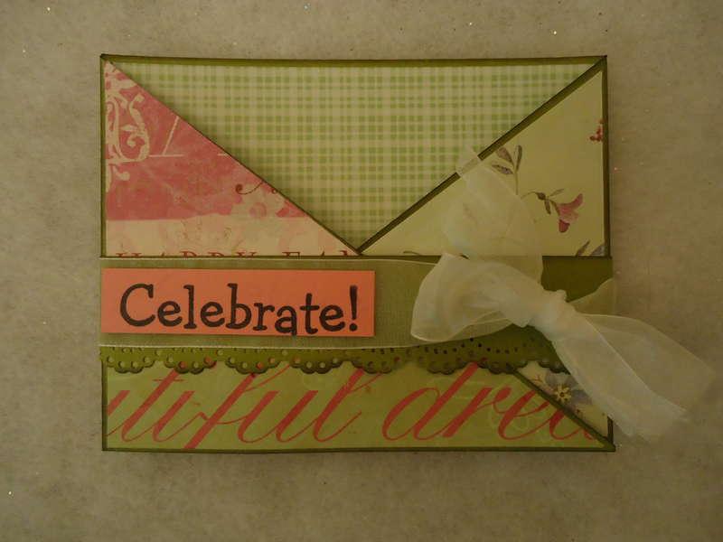Celebrate Criss Cross Card