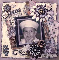 Sweet Little Sailor Boy