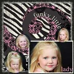 funky little girl
