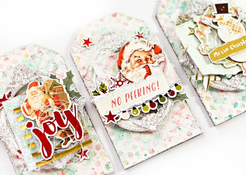 Christmas in July tags