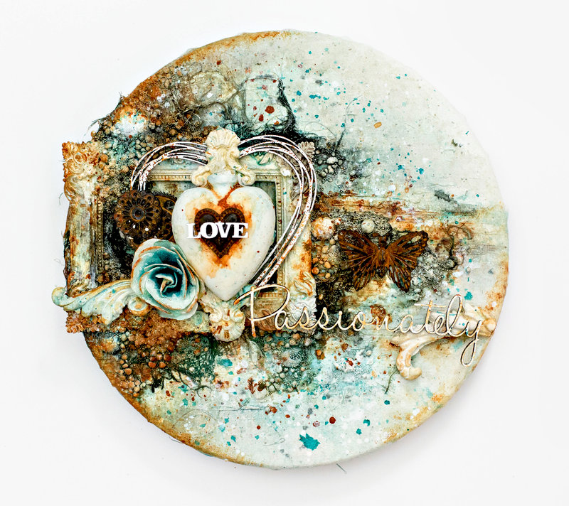 Love Passionately canvas **Video tutorial