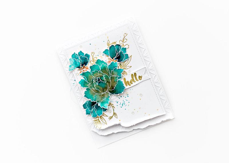 Hello - World cardmaking day