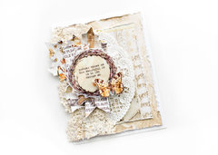 Shabby fall card - Video tutorial