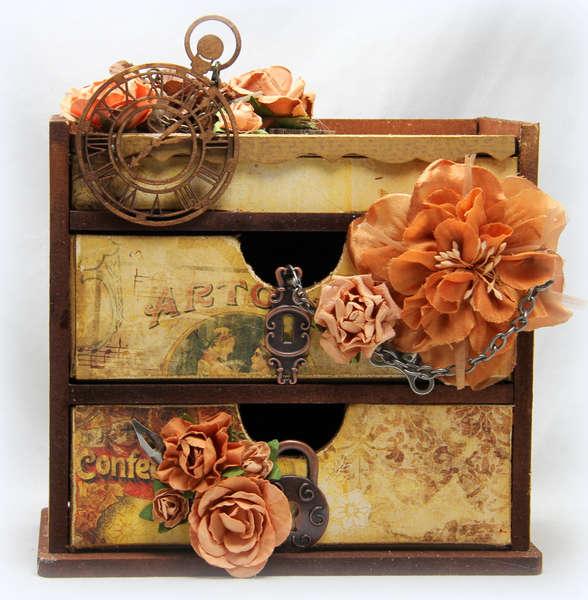 Trinket Box. June Swirlydoos Tech Kit.