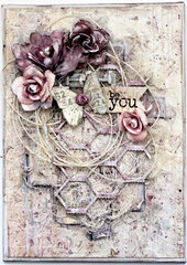 Be You. Mixed media canvas
