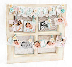 Heaven Sent window picture frame