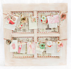 Live with Prima DIY Christmas Advent calendar **Video Tutorial