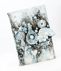 Altered mixed media book