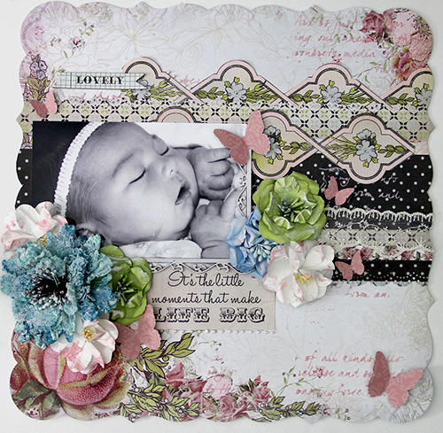 Lovely Layout. **Manor House Creations**