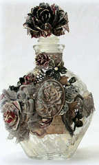 Altered glass bottle *** Swirlydoos Kit Club