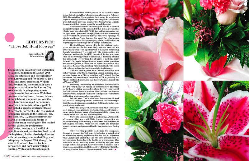 """""""Those Job Hunt Flowers"""" (digi LO)"""
