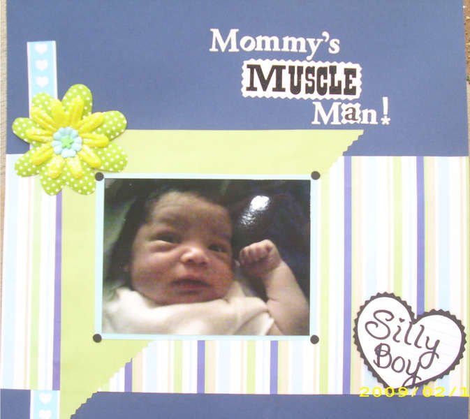 Mommy's Muscle Man!