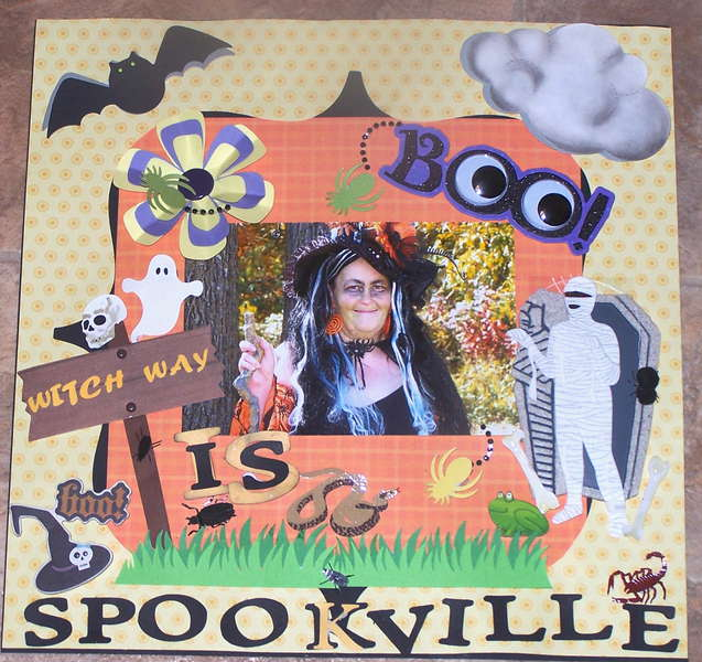 WITCH WAY IS SPOOKVILLE