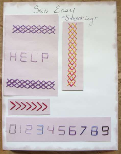 Sew Easy Reference Pages
