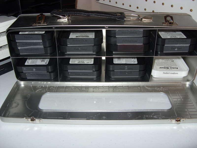Distress Pad Storage