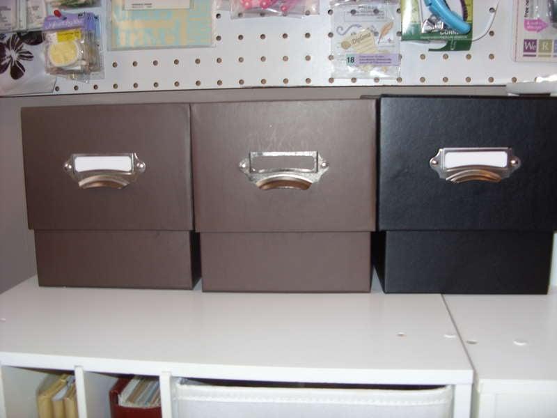 Sizzix CD Boxes Storage
