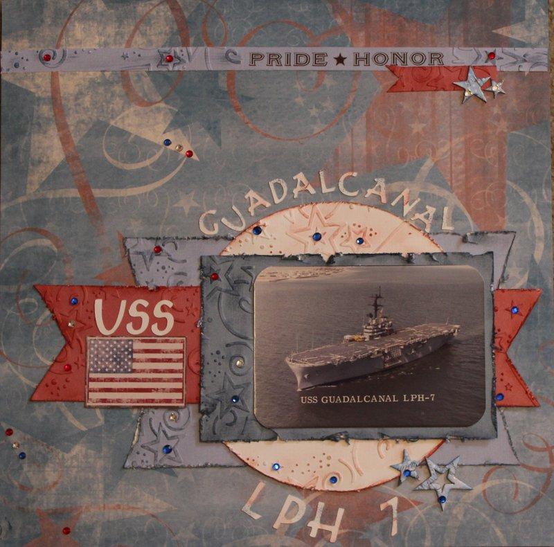 USS GUADALCANAL LPH 7
