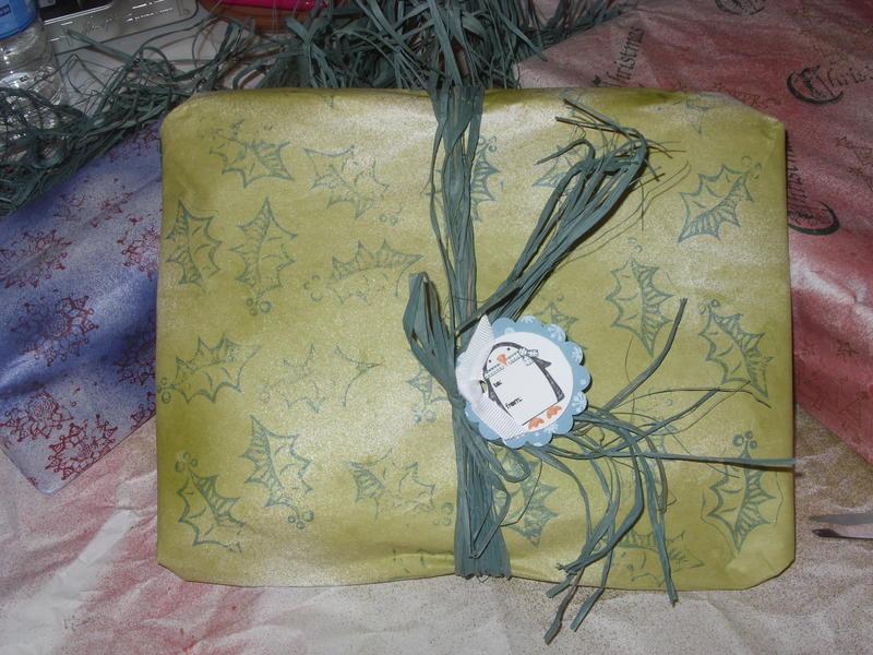 Upcycled Christmas Wrap 3