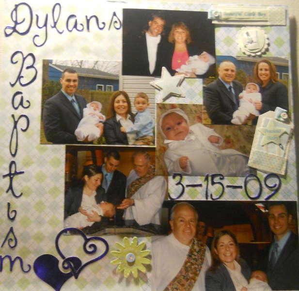 Dylans Baptism
