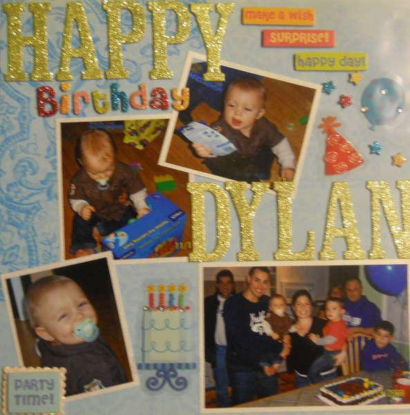 Dylans 2nd Birthday