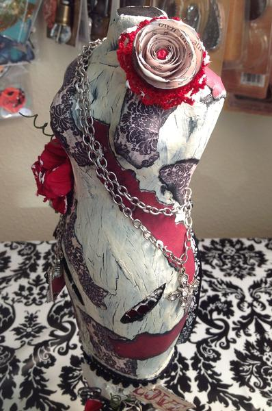 Altered dress form