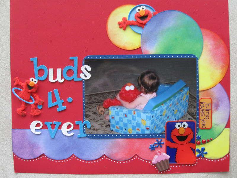 Elmo & Cupcake...Buds 4*Ever