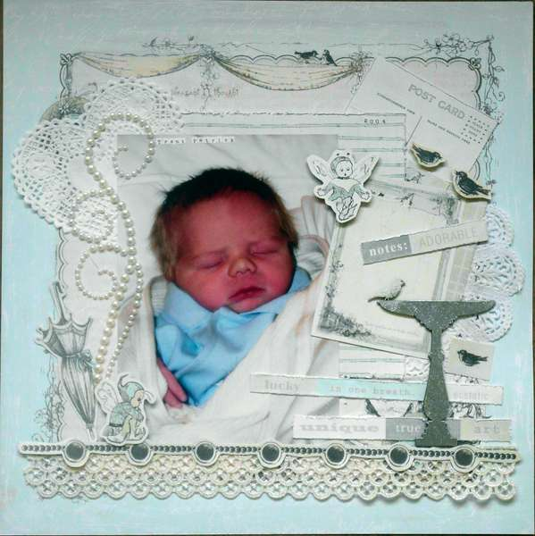 Baby Trent - Flourish with a Bling