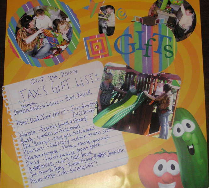 Veggie Tales Party Page 4