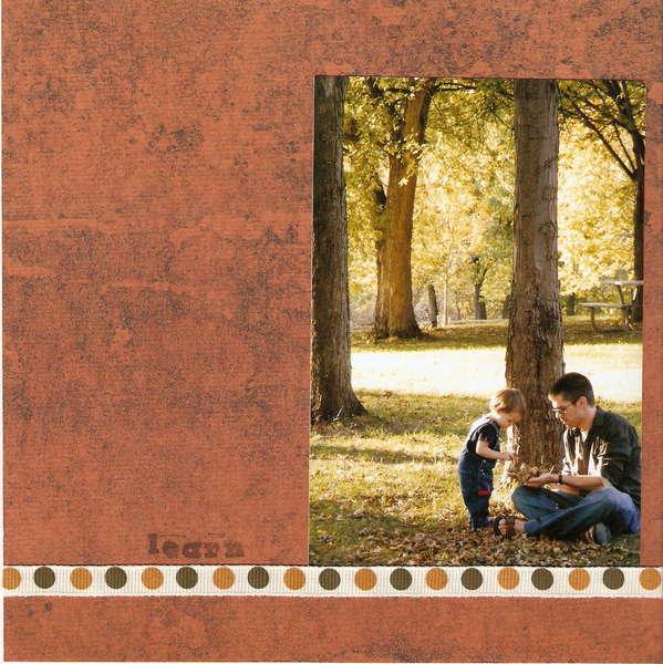 Fall - Page 14 (8x8 Mini Album)