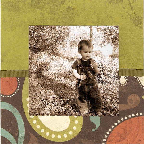 Fall - Page 15 (8x8 Mini Album)