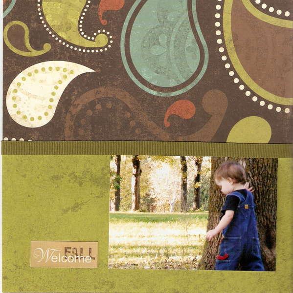 Fall - Page 16 (8x8 Mini Album)