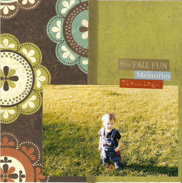 Fall - Page 7 (8x8 mini-album)